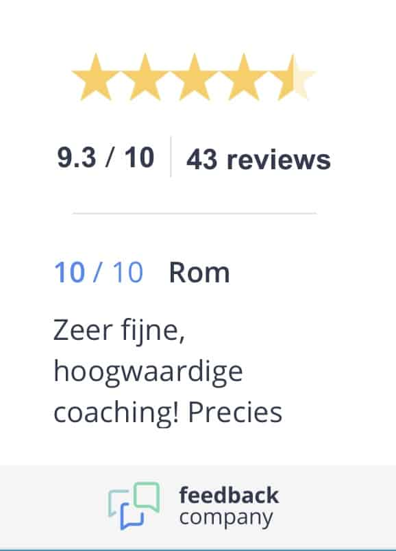 Feedback_Company_Beoordeling_Different_Coaching